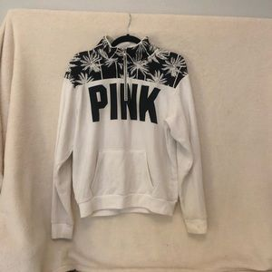PINK Victoria's Secret Half Zip Sweatshirt